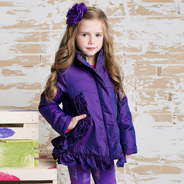 Lemon Loves Lime Pocket Full Of Ruffle Jacket - Purple