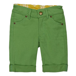 Persnickety Garden Party Bermuda Shorts - Green - sz7Y