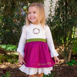 Evie's Closet Autumn Blessings Layered Dress