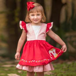 Evie's Closet Circus Themed Layered Dress