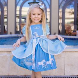 Evie's Closet Cinderella Inspired Overlay Dress