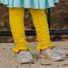 Evie's Closet Ruched Legging - Mustard