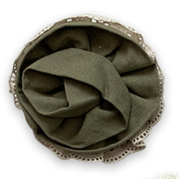 Little Prim Honeycomb Rose Clip - Olive