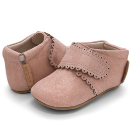Livie & Luca Fleur Baby Shoes - Desert Rose