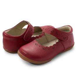 Livie & Luca First Walker Lily Shoes - Scarlet (Fall 2019)