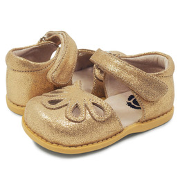 Livie & Luca Petal Shoes - Golden Shimmer (Fall 2019)