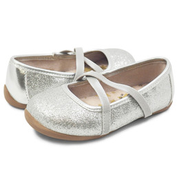 Livie & Luca  Aurora Shoes - Silver Sparkle (Fall 2019)