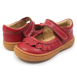 Livie & Luca Ruche Shoes - Scarlet