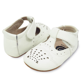 Livie & Luca  Cora Baby Shoes - Milk (Fall 2019)