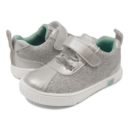 Livie & Luca Spin Shoes - Silver Metallic (Fall 2019)