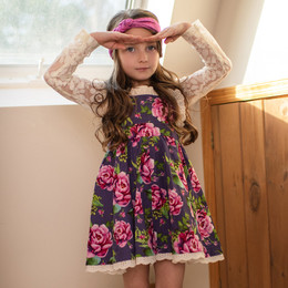 Mustard Pie  Indigo Orchard 2pc Imogen Jumper & Hair Clip (*Top Sold Separately*)