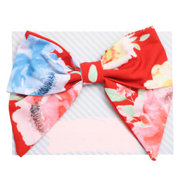 Be Girl Clothing Fall Classic Bow - Rust Floral