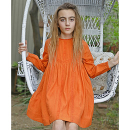 Blu Pony Vintage Cate Dress - Pumpkin