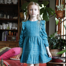 Blu Pony Vintage Emily Dress - Winter Teal