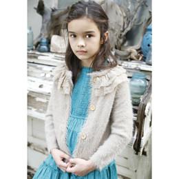 Blu Pony Vintage Heidi Cardigan Sweater - Winter Straw