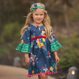 Haute Baby  Fall Fantasy Boho Dress