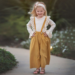 Haute Baby  Fields Of Gold 2pc Top & Suspender Pant Set