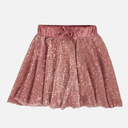 Mayoral Sequin Skirt - Rosegold Crystal