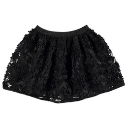 Mayoral  Flower Petal Skirt - Black