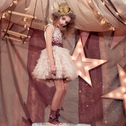 Tutu  Du Monde Stardust Memories Confetti Tutu Dress - Blush