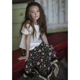 Jak & Peppar Boogie Nights Josefina Skirt - Floral