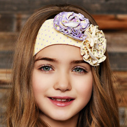 Swoon Baby by Serendipity Lavender Meadow Headband