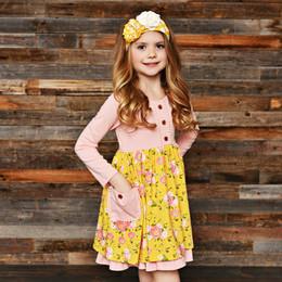 Swoon Baby by Serendipity Little Honey Posie Tie Pocket Dress