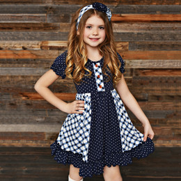Swoon Baby by Serendipity Nantucket Flutter Swing Dress