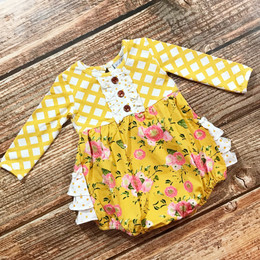 Swoon Baby by Serendipity Little Honey Floral Ruffle Bubble