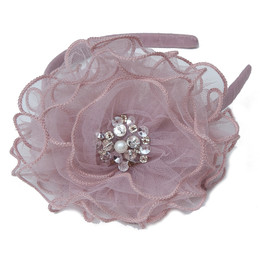 Ooh La La Couture  Headband - Soft Mauve