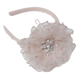 Ooh La La Couture  Headband - Winter Blush