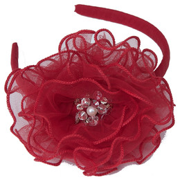 Ooh La La Couture  Headband - Ruby