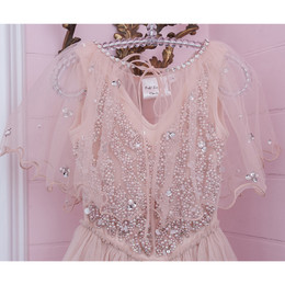 Ooh La La Couture  Tulle Capelet - Winter Blush