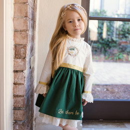 Evie's Closet Peace On Earth Dress