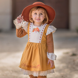 Evie's  Closet   Give Thanks 2pc Dress & Shirt Set