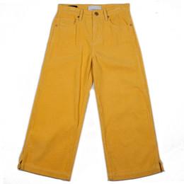 Habitual Girl  Leona Wide Leg Corduroy Pant - Gold