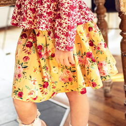 Mustard Pie  Butterscotch Emerson Skirt