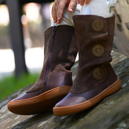 Livie & Luca Tiempo Boots - Mocha (Fall/Winter 2019)