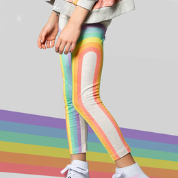 Paper Wings   Classic Legging - Rainbows