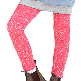Paper Wings    Classic Legging - Pink Sparkle