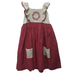 Little Prim   Winter Wonderland Millie Dress - Holly