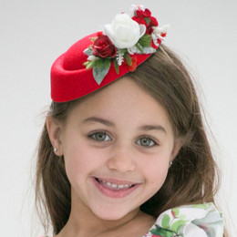 Be Girl Clothing   Holiday Pillbox Hat
