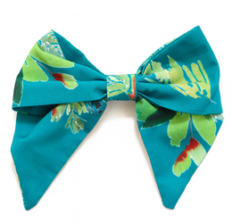 Be Girl Clothing   Holiday Classic Bow - Green Holly