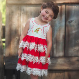 Be Girl Clothing Holiday Priscilla Dress