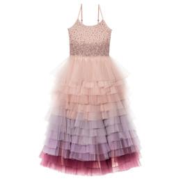 Tutu Du Monde Let It Snow Keepsake Long Tutu Dress - Ballet Slipper Mix