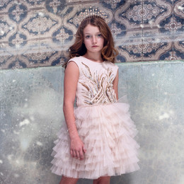 Tutu Du Monde Let It Snow Moonbeam Tutu Dress - Apple Pie