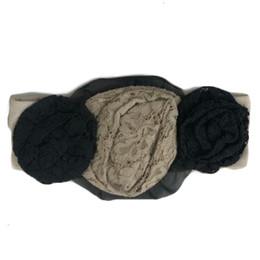 Mustard Pie Snowfall Flora Headband - Beige