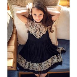 Mustard Pie Snowfall  2pc Ellie Dress & Hair Clip - Black