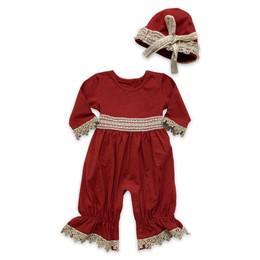 Mustard Pie    Snowfall  2pc Maya Romper & Hat Set -   Holly