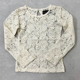 Mustard Pie    Snowfall  Lottie Sheer Lace Top - Cream